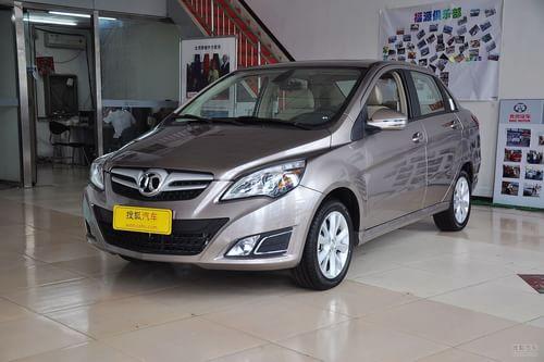 2013款北京汽车E150三厢版手动乐尚型