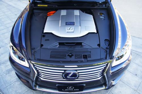 试驾2013款雷克萨斯LS 600h L
