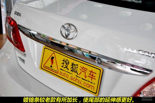 丰田 卡罗拉 实拍 图解 图片