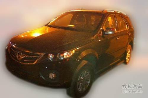 金杯铁骑/S30两款SUV测试谍照