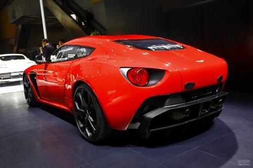 阿斯顿马丁V12 Zagato 广州车展实拍