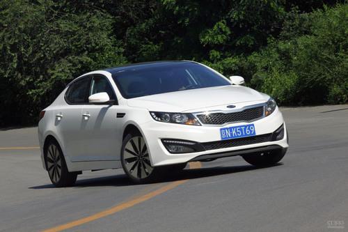 2012款起亚K5 2.0L测试