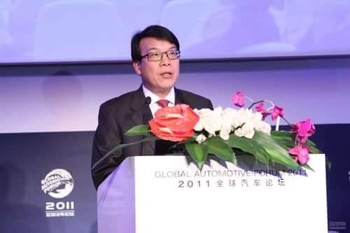 上汽集团执行副总裁 陈志鑫