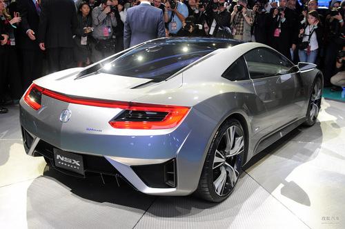 全新讴歌NSX概念车 北美车展实拍