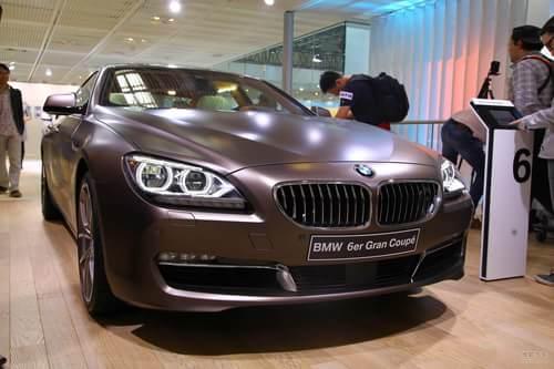 宝马6系Gran Coupe北京车展实拍