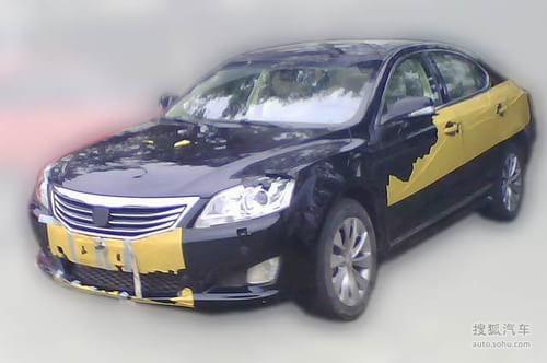 长安中级车CD101今年上市 主打1.8T动力
