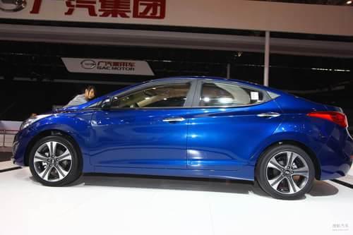 北京现代朗动 2012北京车展实拍