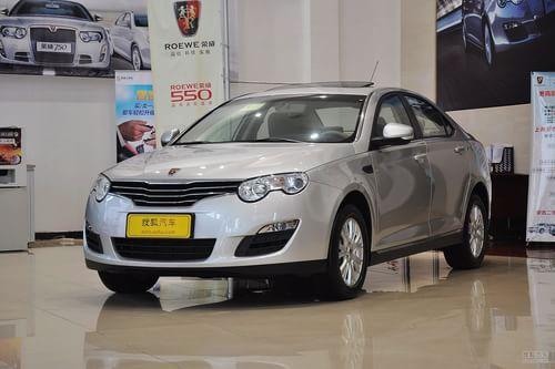 2012款荣威550S 1.8 AT超值版