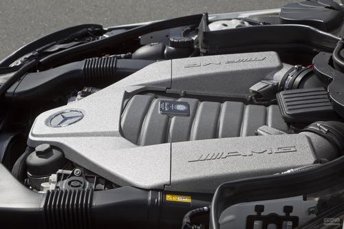 奔驰 C63 AMG 实拍 底盘/动力 图片