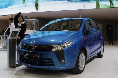 英伦SC5-RV 上海车展实拍