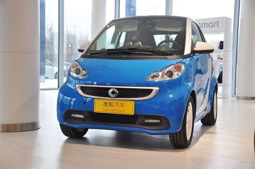 2013款smart fortwo 1.0MHD冰炫特别版