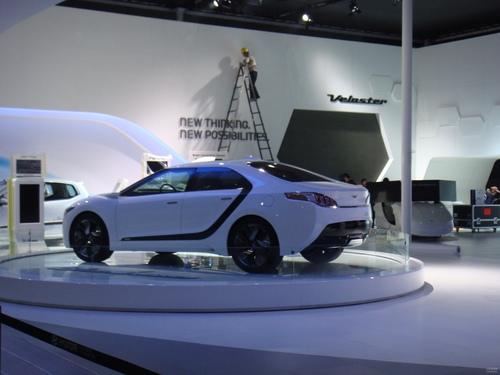 现代Blue2概念车 2011上海车展探营实拍