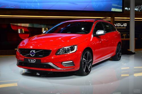 沃尔沃全新V60上海车展实拍