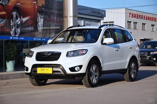 2012款现代新胜达 2.4L四驱豪华版