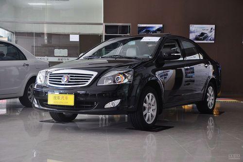 2012款吉利英伦汽车SC7到店实拍