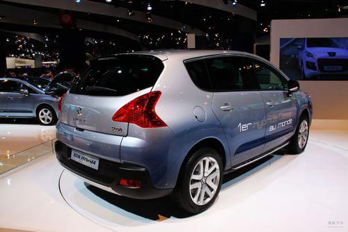 标致3008 Hybrid4 巴黎车展实拍