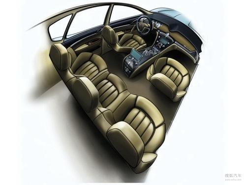 玛莎拉蒂SUV概念车草图曝光