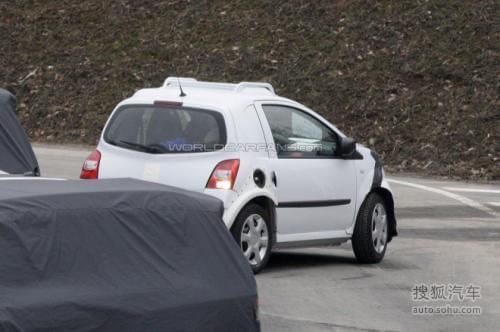 全新雷诺Twingo/Smart ForTwo路试谍照图