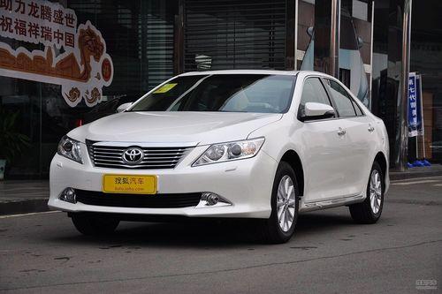 2012款广汽丰田凯美瑞2.5G豪华版