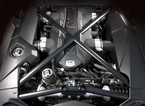 兰博基尼 Aventador 实拍 评测 图片
