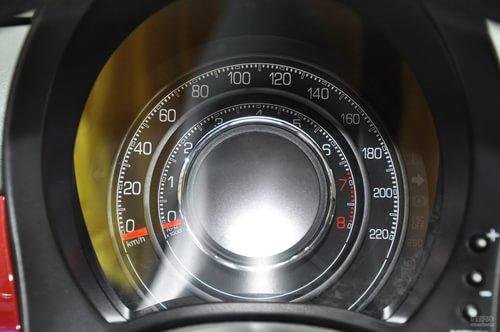 菲亚特500上海车展实拍