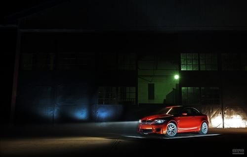 2011宝马1系M coupe暗夜精灵
