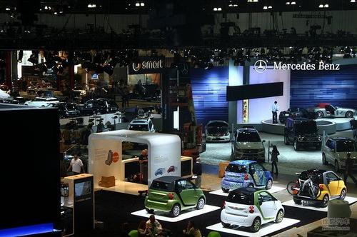2011洛杉矶车展展馆探营实拍