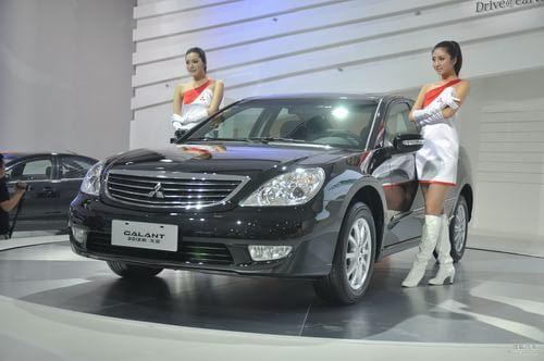 2012款三菱戈蓝广州车展实拍