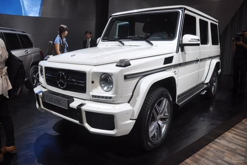 奔驰G63 AMG 广州车展实拍