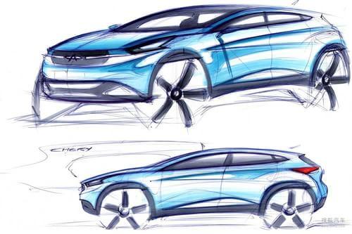 奇瑞TX概念车北京车展首发 换代瑞虎雏形