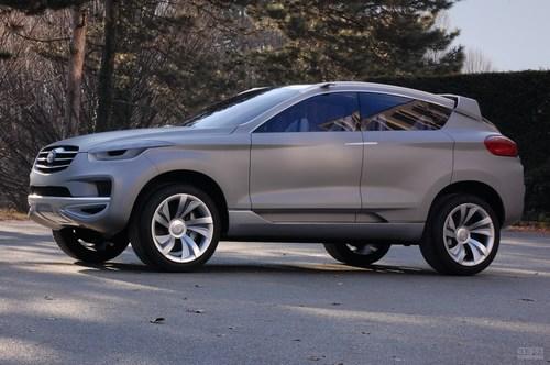 2011款奔腾SUV概念车