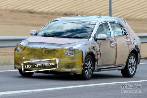 未来引入国内 丰田卡罗拉混动试车谍照
