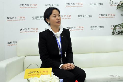 上海通用市场营销部执行副总监兼雪佛兰市场营销部部长 任剑琼