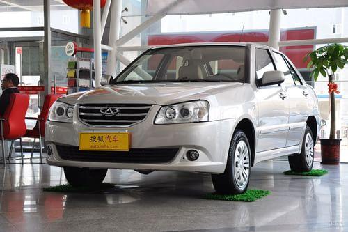 2012款奇瑞旗云2 1.5L MT标准型