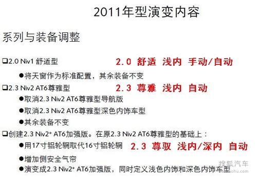 2011款雪铁龙C5内部资料