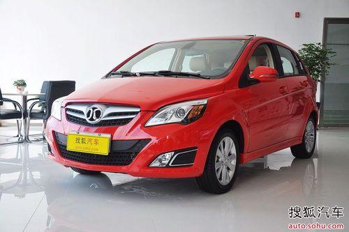 2012款北京汽车E150 1.5L乐尚自动版到店实拍