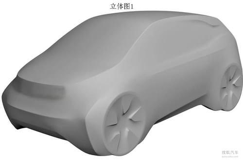 宝马i3模型申报图