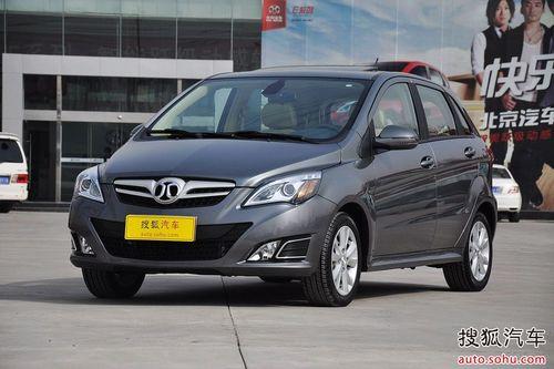 2012款北京汽车E系列1.5L手动乐尚版