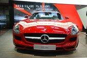 奔驰SLS AMG上海车展实拍