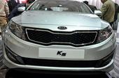起亚K5 上海车展实拍