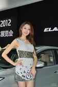 北京现代8号车模 2012北京车展实拍