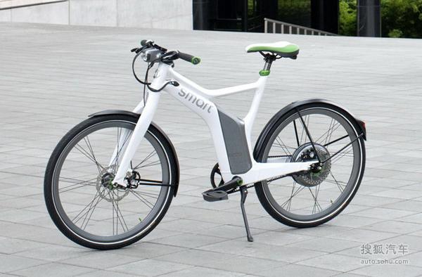 绿色时代到来Smart电动车与电动自行车