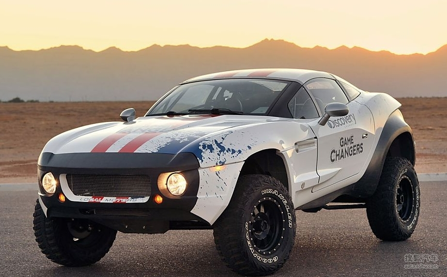 拉力战士 美国local Motors Rally Fig 综合图片 搜狐汽车