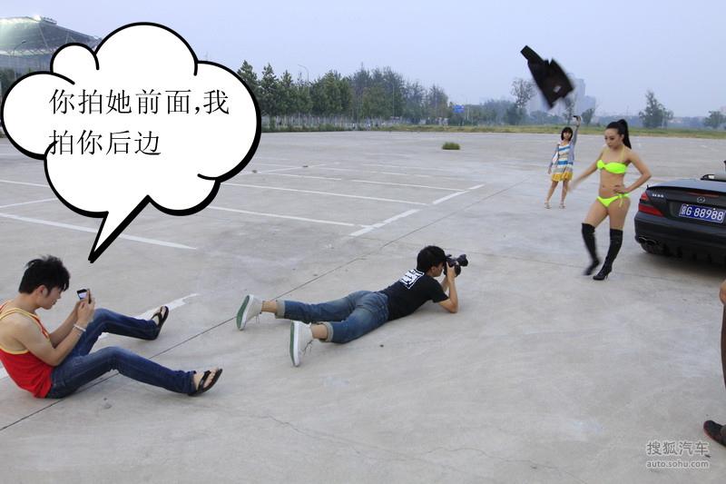 【改装与激情】锋黑武士 缠斗性感女神912