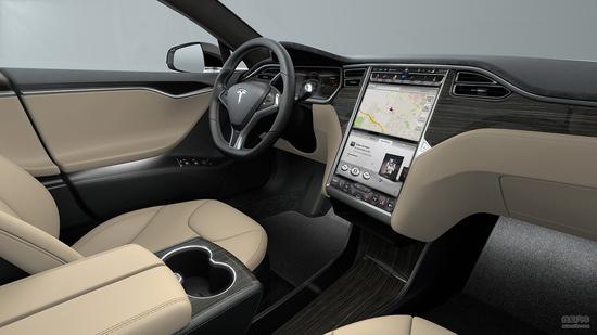 Tesla Model S 实拍 官方 图片