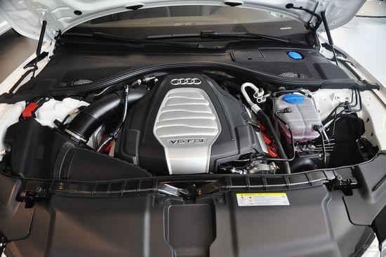 奥迪 A7 实拍 底盘/动力 图片