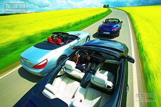 BMW650i/奔驰SL/保时捷911对比测试