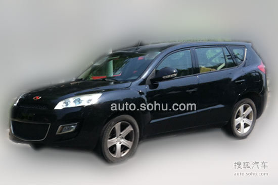 吉利帝豪 全新高端轿车EC9 七座SUV车型EX8