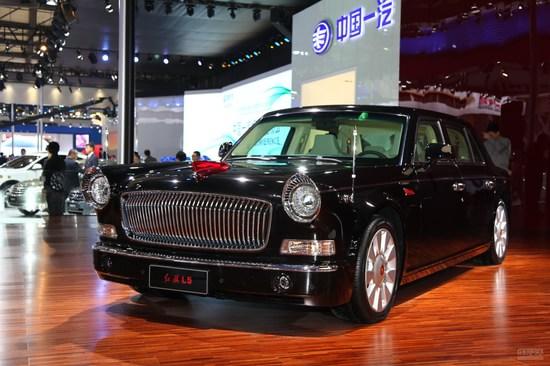 红旗L5 上海车展实拍