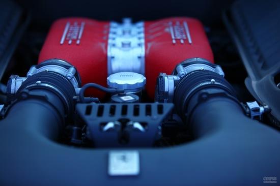 法拉利 458 实拍 底盘/动力 图片